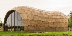 A Strange Peanut-Shaped Building Designed by Algorithms