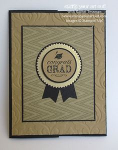 Pocket Grad Card made with Blue Ribbon Stamp Set… #stampyourartout #stampinup - Stampin' Up!® - Stamp Your Art Out! www.stampyourartout.com