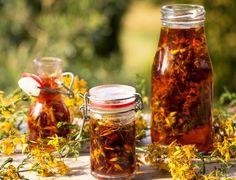4 liečivky, ktoré by ste počas júla nemali prehliadnuť - Záhrada.sk Pesto, Mason Jars, Food, Essen, Mason Jar, Meals, Yemek, Eten, Glass Jars