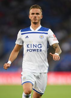James Maddison Photos - James Maddison of Leicester in action during the pre-season friendly match between Leicester City and Valencia at The King Power Stadium on August 2018 in Leicester, England. Leicester City Football, Leicester City Fc, Leicester England, Nike Football, Football Players, James Maddison, Soccer Guys, King Power, National Football Teams