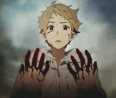 Kyoukai no Kanata Blood Kanbara Akihito
