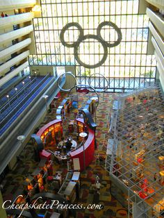 Reason to Love Disney World at Christmas? The giant Mickey Wreath at the Contemporary Resort Disney Resort Hotels, Disney World Resorts, Walt Disney World, Disney Parks, Disney Vacation Club, Disney Vacations, Disney Trips, Disney World Christmas, Merry Christmas