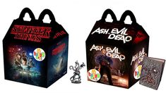 "CELEBRATE NERDOWEEN WITH ""HORROR HAPPY MEALS"" FOR STRANGER THINGS, ASH VS EVIL DEAD, MORE"