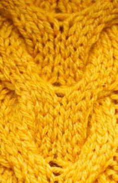 Braided Bridge Cable Scarf - All Knitting Videos Knitting Videos, Crochet Videos, Cable Knitting, Headband Pattern, Beanie Pattern, Stitches Wow, Irish Crochet, Crochet Lace, Knit Edge