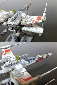 Bandai x Star Wars 1/72 X-Wing Starfighter Painted Build [weathered] by Matever 1.5 Full Photoreview http://www.gunjap.net/site/?p=221912