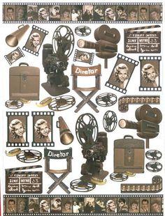Laminas de cine, antiguas, ..... | Aprender manualidades es facilisimo.com
