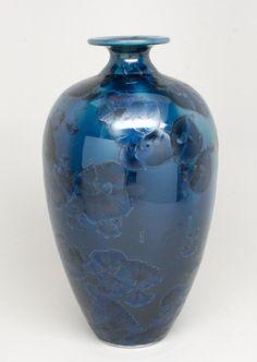 Crystalline Glaze Vase