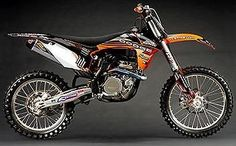 N-Style Hart and Huntington Graphics Kit Blk Background for KTM 250 XC 11-12