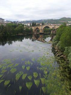 Rio Miño a su paso x Orense