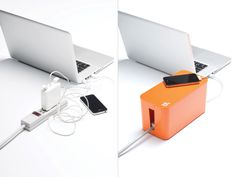Before After; CableBoxMini