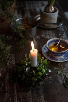 December Since Sunday, there has been a basket full of forest goodies standing on our kitchen table waiting to be used for decorating the house. Witch Aesthetic, Aesthetic Dark, Christmas Lights Wallpaper, Slytherin Aesthetic, Dark Photography, Aesthetic Wallpapers, Candles, Decoration, Early Morning