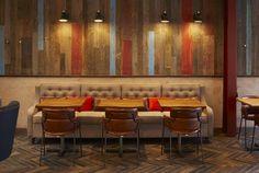 Wildwood Kitchen by Design Command, Liverpool – UK Cafe Interior Design, Interior Decorating, Café Interior, Home Design, Wildwood Kitchen, Best Office, Sitting Arrangement, Liverpool Uk, Cool Cafe