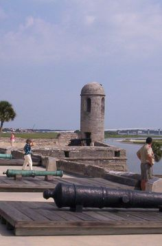 Castillo De San Marco Fort in St. Augustine Fl