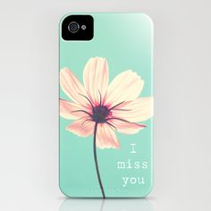I miss you iPhone Case by Shilpa - $35.00