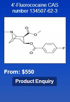 4'-Fluorococaine CAS number 134507-62-3 Showing the single result http://shenzhen-chemical.com/