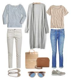 """One Outfit Two Ways - Market Day"" by andthisisthereasonwhy on Polyvore featuring rag & bone, New Balance, J.Crew, APOLIS, STELLA McCARTNEY, Repetto, Cutler and Gross and MICHAEL Michael Kors"