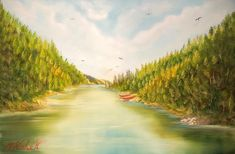 1,530 Followers, 1,274 Following, 114 Posts - See Instagram photos and videos from Marwen Kishek 🇨🇦 (@m_kishek_art) Kayaking, Canoeing, Hiking Trails, Landscape Paintings, Oil On Canvas, Jacques Cartier, River, Fine Art, Photo And Video