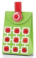 Retro Squares Gift Bag by Erin Lincoln - supplies and instructions included