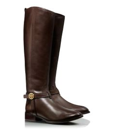 Tory Burch Tall Brown Boots.