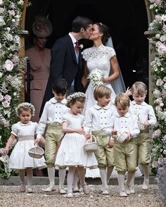 Pippa Middleton and James Matthews are officially husband and wife! ❤️ #PippaMiddleton