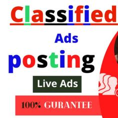 Posting all manual ads.     100% Guaranteed Live Ad Links.     Instant live advertising     Select the perfect post category and sub-category     Posting ads on the top ranked sites in the United States.     Post the right title, description and contact information     . Post to your target city or state.     Post ads in different cities and regions.     Customer satisfaction     Capable of graphic design     100% professional     Flagged on all ads, let me know I will replace it Editing Writing, Writing A Book, Flyer Distribution, Logo Branding, Branding Design, Post Ad, Campaign Logo, Blurb Book, Advertising