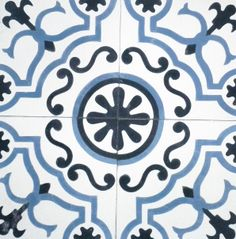 Baldosas hidráulicas,Encaustic Andalusian cement tiles for both the floor and wall. MOD-118
