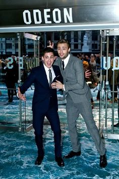 douglas booth and logan lerman - their friendship is too cute for words