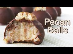 These chocolate-covered condensed milk pecan balls have a sweet, nutty, and delicious flavor. And the best thing is that it only takes four ingredients to make these yummy dessert treats! Pecan Recipes, Milk Recipes, Candy Recipes, Cooking Recipes, Easy Desserts, Delicious Desserts, Condensed Milk Desserts, Indian Dessert Recipes, Homemade Candies