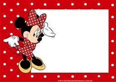 Convite de aniversário infantil da Minnie para imprimir - Aniversário de Criança