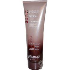 Giovanni, 2chic, Ultra-Sleek Shampoo, Brazilian Keratin