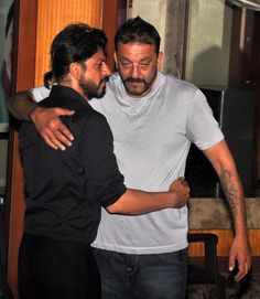 with Sanjay Dutt just out of prison, 29 Feb 2016