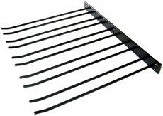 Lido glashängare, 40 cm, svart, vägg