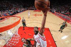 Harden brilha novamente, Nenê marca 16 pontos, e Rockets vencem o Jazz #globoesporte