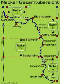 Neckar River cruises
