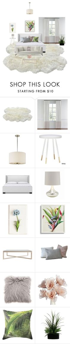 """Quarto"" by megeller ❤ liked on Polyvore featuring interior, interiors, interior design, home, home decor, interior decorating, Kate Spade, Barclay Butera, Tommy Mitchell and Frontgate"