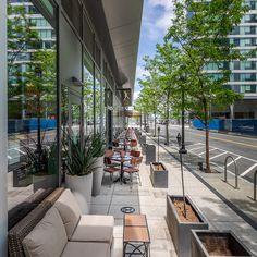 Restaurants Outdoor Seating, Outdoor Restaurant Patio, Cool Restaurant, Patio Dining, Outdoor Dining, Outdoor Patios, Outdoor Decor, Places In Boston, Boston Garden