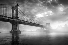 Photo Manhattan Bridge NYC - Serge Ramelli