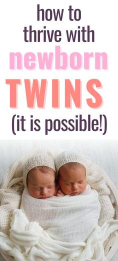 Bringing newborn twins home from the hospital is challenging, but if you follow these tips from a twin mom, it won't be as hard as you think. Learn the best twips for life with infant twins, including twin sleep tips, and how to soothe newborn twins. If you're currently expecting twins or just had your twins, this article is a must read.  #newborntwins #expectingtwins #twinbabys #twinmom Newborn Twins, Newborn Care, Twin Mom, Twin Babies, Baby Shower Activities, Infant Activities, New Baby Shopping List, Twins Schedule, Mom Survival Kit