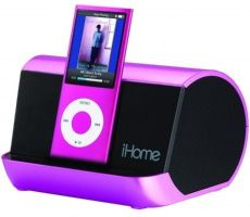 Pink Portable MP3 Stereo Speaker  iHome IHM9PC  PRICE DROP!