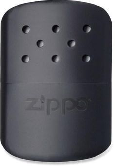 Be ready for cold weather with the Zippo hand warmer. Keep it stashed in your emergency kit or pack it along on camping trips to increase your comfort.