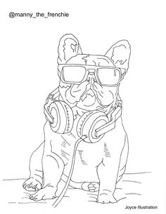 Dogs of Instagram Coloring Book by Joyce Illustration