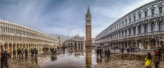 Piazza San Marco Pano by Patrick Ennser on 500px