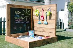 Outdoor Spaces Brought to Life on 'Hidden Potential' Outdoor Spaces Brought to Life on 'Hidden Potential',Time to get my craft on. Outdoor Spaces Brought to Life on 'Hidden Potential' Kids Outdoor Play, Outdoor Play Spaces, Kids Play Area, Backyard For Kids, Backyard Projects, Outdoor Projects, Outdoor Fun, Outdoor Ideas, Backyard Play Spaces