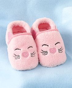 Adorable Critter Slippers for Baby