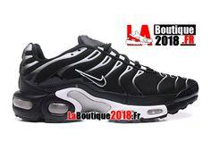 differently dbb7a 9d614 Nike Air Max Tn Tuned Requin 2017 - Chaussures de Basketball Pas Cher Pour Homme  Noir Argent métallique Blanc 604133-681