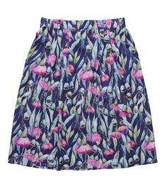 made590 - Miranda Murphy Pleat Skirt - Gumflower