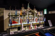 """One more Asakusa-related building model from the Edo-Tokyo Museum in Ryogoku (http://www.edo-tokyo-museum.or.jp/). This one is of the original """"Denkikan"""" (http://www.pinterest.com/pin/196047390004008593/) back in the early 20th century, when it was Japan's first cinema and the Rokku district, Tokyo's top entertainment area #Asakusa, #Denkikan, #Ryogoku, #museum November 15, 2012 © Grigoris A. Miliaresis"""