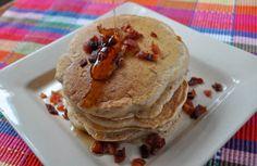 Apple Bacon Pancakes Recipe