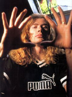 Dave Mustaine Megadeth......
