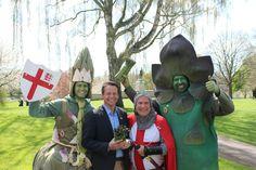 Evesham MP Nigel Huddleston celebrated the Great British Asparagus Run on 23rd April.
